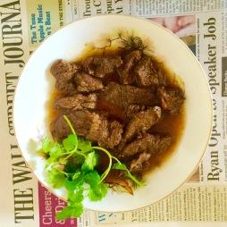 Black pepper beef, Vietnamese