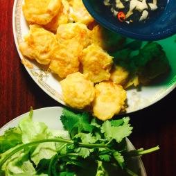 Cuốn tôm chiên - Fried Shrimp rolls, Vietnamese