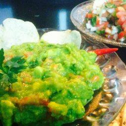 Guacamole and Salsa dip, Mexican