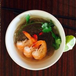 Miến tôm, Vietnamese