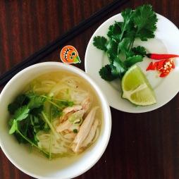 Phở gà, Chicken noodle, Vietnamese
