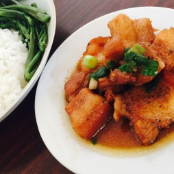Thịt kho - Pork, Vietnamese